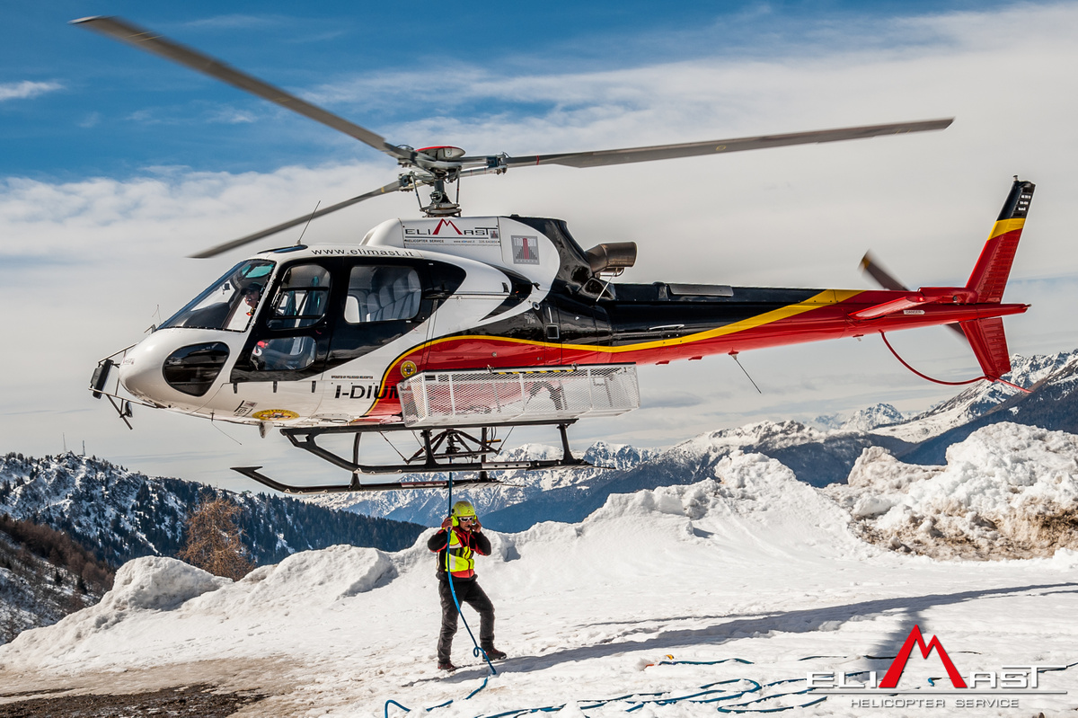 Elicottero B3 : La nostra flotta di elicotteri elimast servizi in elicottero