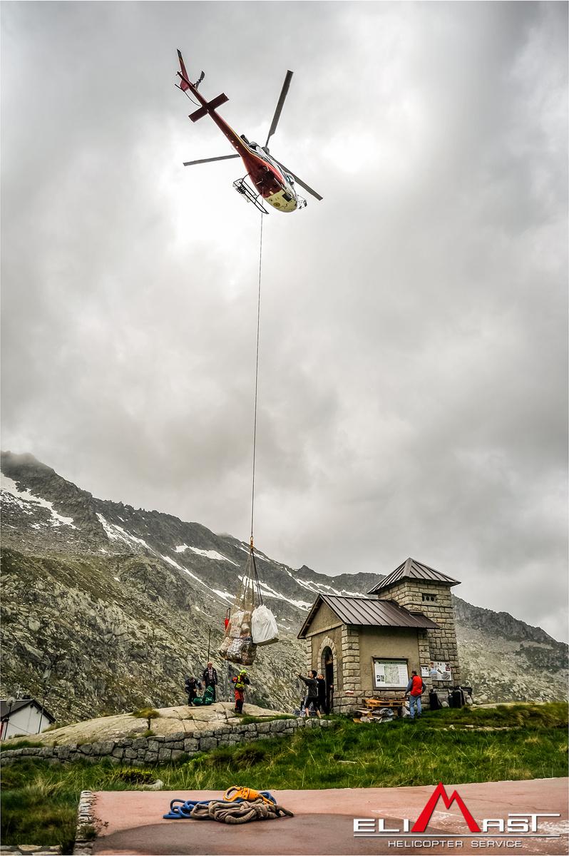 Elicottero Edile : Elicotteri per trasporto merci e carichi appesi elimast