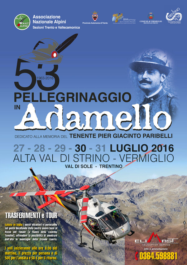53° Pilgrimage in Adamello