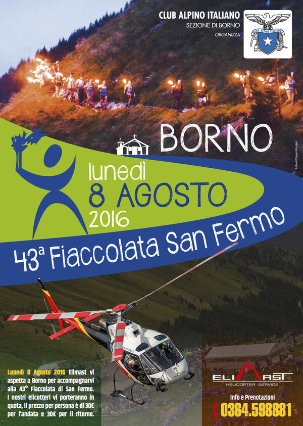 43° Torchlight procession of San Fermo